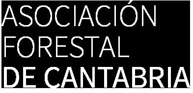 texto logo asociacion forestal cantabria