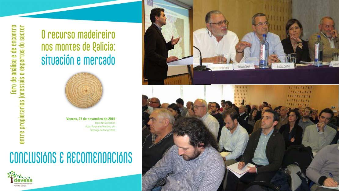Asforcan asiste en Santiago de Compostela al Foro madeireiro
