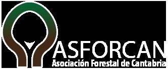 logotipo asociacion forestal cantabria
